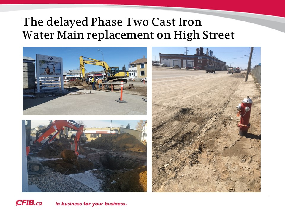 High Street West Construction
