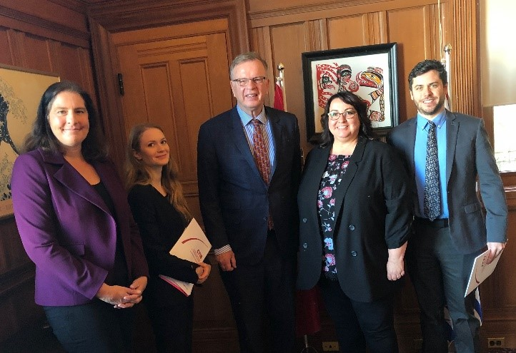 CFIB Meets with Minister Ralston March 2019