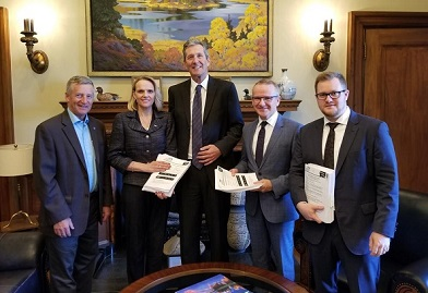 CFIB meeting with Manitoba Premier Brian Pallister and Minister Blaine Pedersen