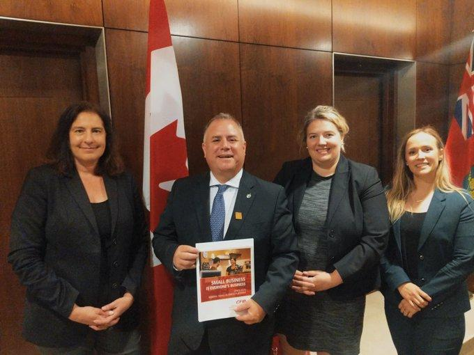 CFIB meets with NDP small business critic Gord Johns