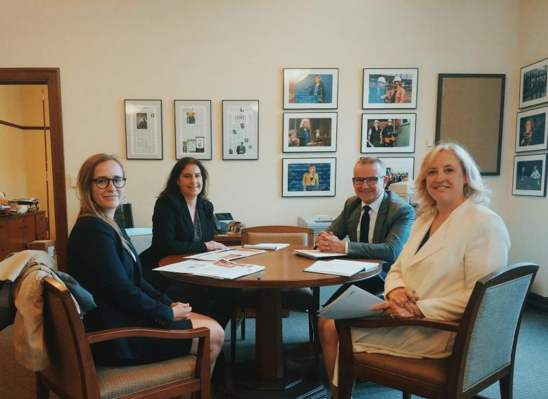 CFIB meets with deputy Conservative leader Lisa Raitt