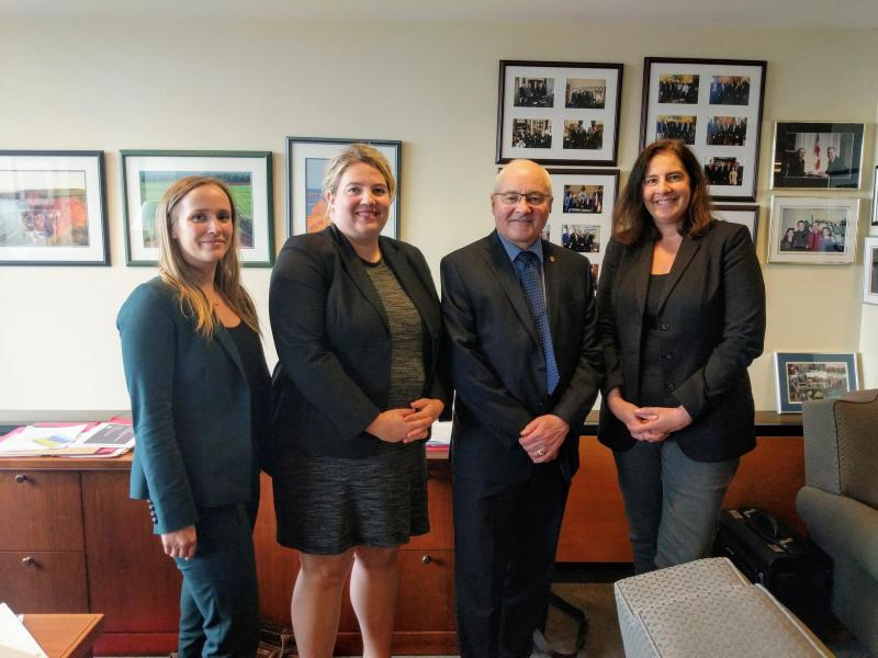 CFIB meets with Liberal MP Wayne Easter
